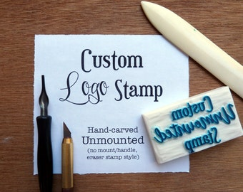 Custom logo stamp, personalized logo stamp, custom logo rubber stamp, custom logo stamps, business stamp, shop stamp, rubber stamps
