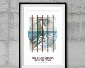 The Shawshank Redemption Alternative Movie Poster - Icon Artwork