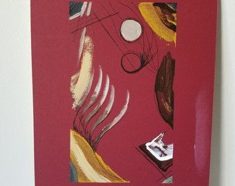 """Mixed Media Painting """"What lies within"""""""