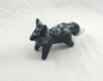 Silver Fox Totem