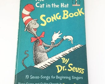Dr. Seuss The Cat in The Hat Song Book First Edition