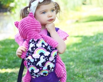 Dear Diary doll carrier - Dear Diary Tula -Unicorn Doll carrier - Dear Diary accessories - Tula Doll carrier  - Tula - Toy Carrier