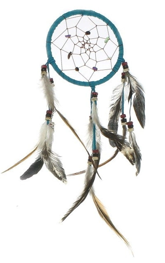 Dream Catcher, Wall Hanging, Home Decor, Turquoise River Dreamcatcher