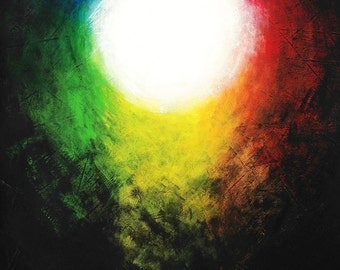 THE LIGHT IV Art Print