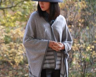 Cashmere poncho / cashmere Cape / wrap