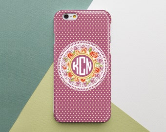 Case Custom Monogram iPhone Case Monogram iPhone 6 Case Monogram iPhone 4S Case Monogrammed iPhone Case Monogram Custom Samsung Personalized