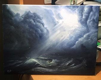 Storm at Heart. Original.