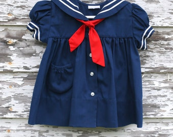 Sailor Dress Size 3-6