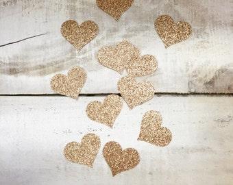 Glitter Heart Confetti