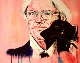 A Portrait of Andy Warhol