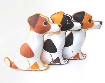 Jack Russell Terrier Plush Pillow