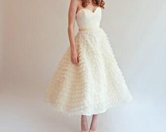 Tea length Gown--Sample sale--Size 6