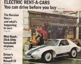 September 1972 Popular Mechanics Magazine Renault 15 Soviet Sea Power Articles