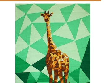 Jungle Abstractions: The Giraffe by Violet Craft