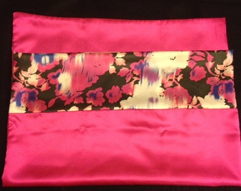 Tickle Pink Satin Pillowcase
