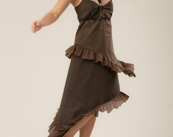 Gypsy Dress - Bohemian summer dress - Women's clothing