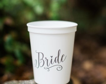 Bride Cup, engagement gift, bachelorette party, bride to be, bridal shower, just engaged, engagement party, bachelorette party