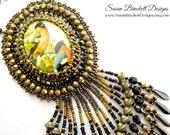 Wild Birds Cameo Necklace SALE