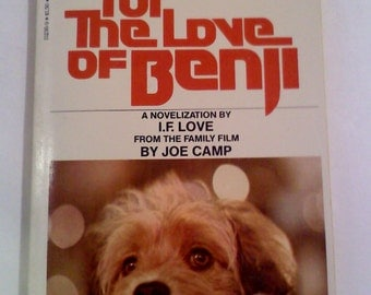 For the love of BENJI Paperback Book