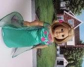 American Girl Doll Clothes, Frozen, Elsa, Fever 2, Snow Queen Elsa Ensemble, Summer Dress, 18 Inch Doll Clothes