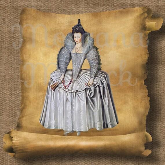 Queen Boleyn Royalty Free Clipart