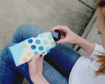 Sew Your Own Sunglasses Case Sewing Kit -- Fabric Included -- Easy DIY for Beginners