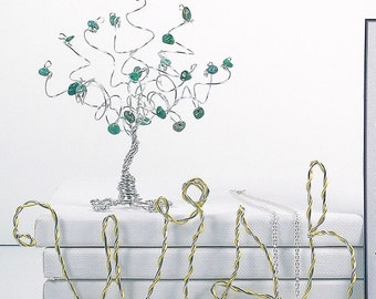 Inspirational Wire Words Ornaments Home Decor Wall Hanging