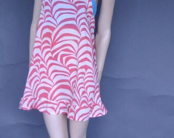overall dress, summer dress, swim cover up, mini dress, 90s dress, beach dress