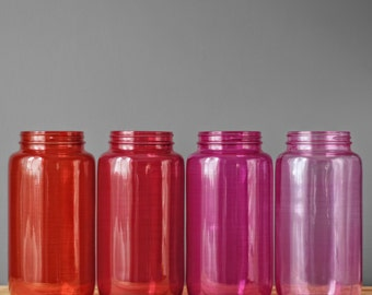 Mason Jar Storage Canister for the Kitchen, Brilliantly Colored Pantry Storage Container