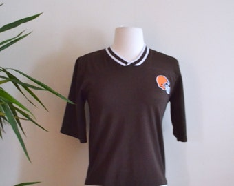 Vintage Cleveland Browns Jersey, Majestic Jersey, NFL, Athletic Wear, Youth Size, Fits Womens Small