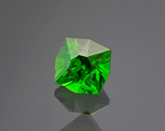 UPRISING SALE! Enchanting Green Chrome Tourmaline Gemstone from Tanzania 0.83 cts