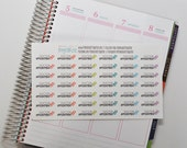 Doctor Appointment Stickers, set of 30 Planner Stickers, Erin Condren Planner Stickers, Happy Planner Stickers