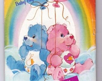 Care Bears, Baby Hugs Bear, Baby Tugs Bear sewing Pattern, Butterick 6932, aka Butterick 341, Stuffed 12 Inch Toy Bear pattern, Uncut