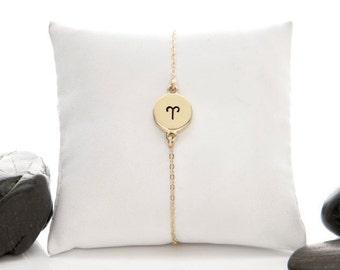 Aries Bracelet, Aries Jewelry, Aries, Zodiac Bracelet, Zodiac Jewelry, Horoscope Bracelet, Astrology Bracelet, Astrology Jewelry