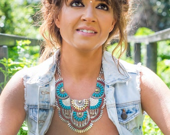 The Sunset Statement Necklace
