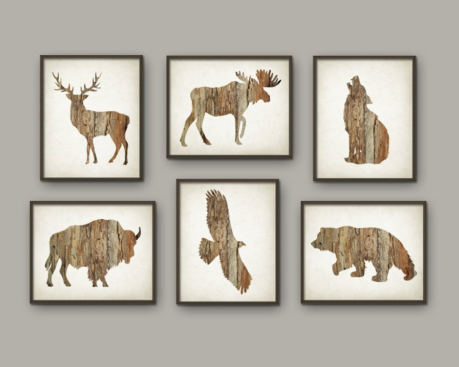 Rustic Cabin Wall Art Print Set Of 6 Deer Buffalo Bear Eagle. Hotel With Jacuzzi In Room Dallas. Lockers For Staff Rooms. Living Room Carpet Tiles. How To Block Noise From A Room. Unusual Wall Decor. How To Build A Half Wall Room Divider. Decorate Buffet Server. Farmhouse Living Room Furniture