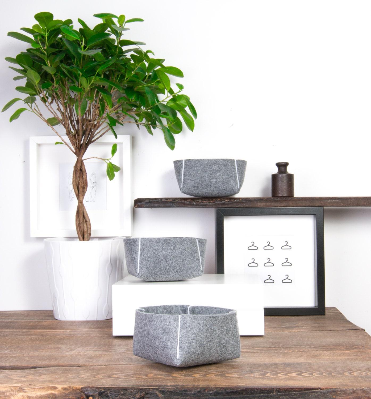 Decorative Bowls Set Of 3 Home Decor Modern Vases Fruit