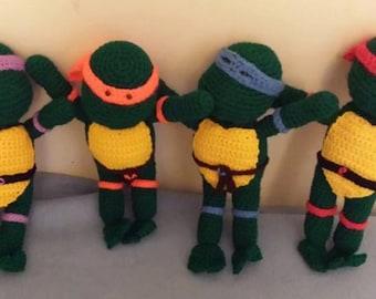 Crochet Teenage Mutant Ninja Turtles