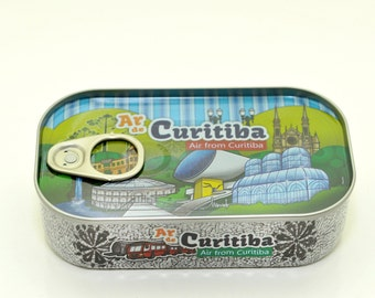 Canned Fresh Air From Curitiba - Souvenirs Brazil