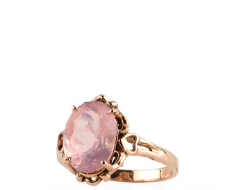 Boheme Rose Quart Ring