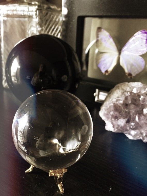 Vintage Crystal Ball 56