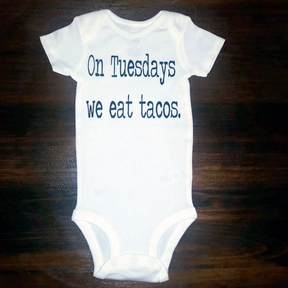 Taco Tuesday- onesie