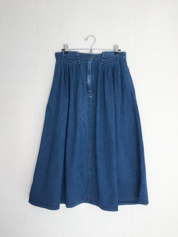 denim skirt vintage denim maxi skirt maxi skirt with