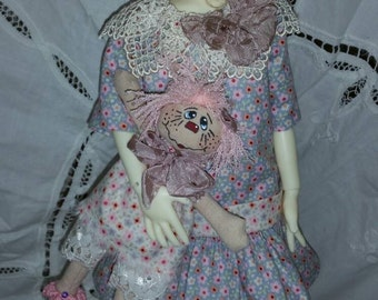 OOAK Outfit and Dolly for Twig. By Connie Lowe