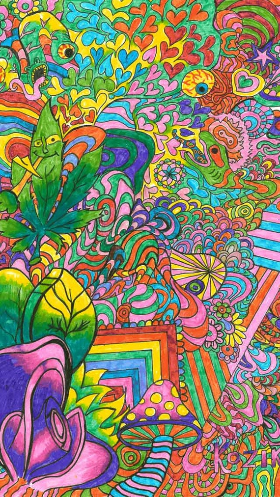 Famous Psychedelic Paintings