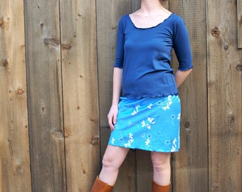Mallory Top ~ Bamboo & Organic Cotton ~ Made to Order