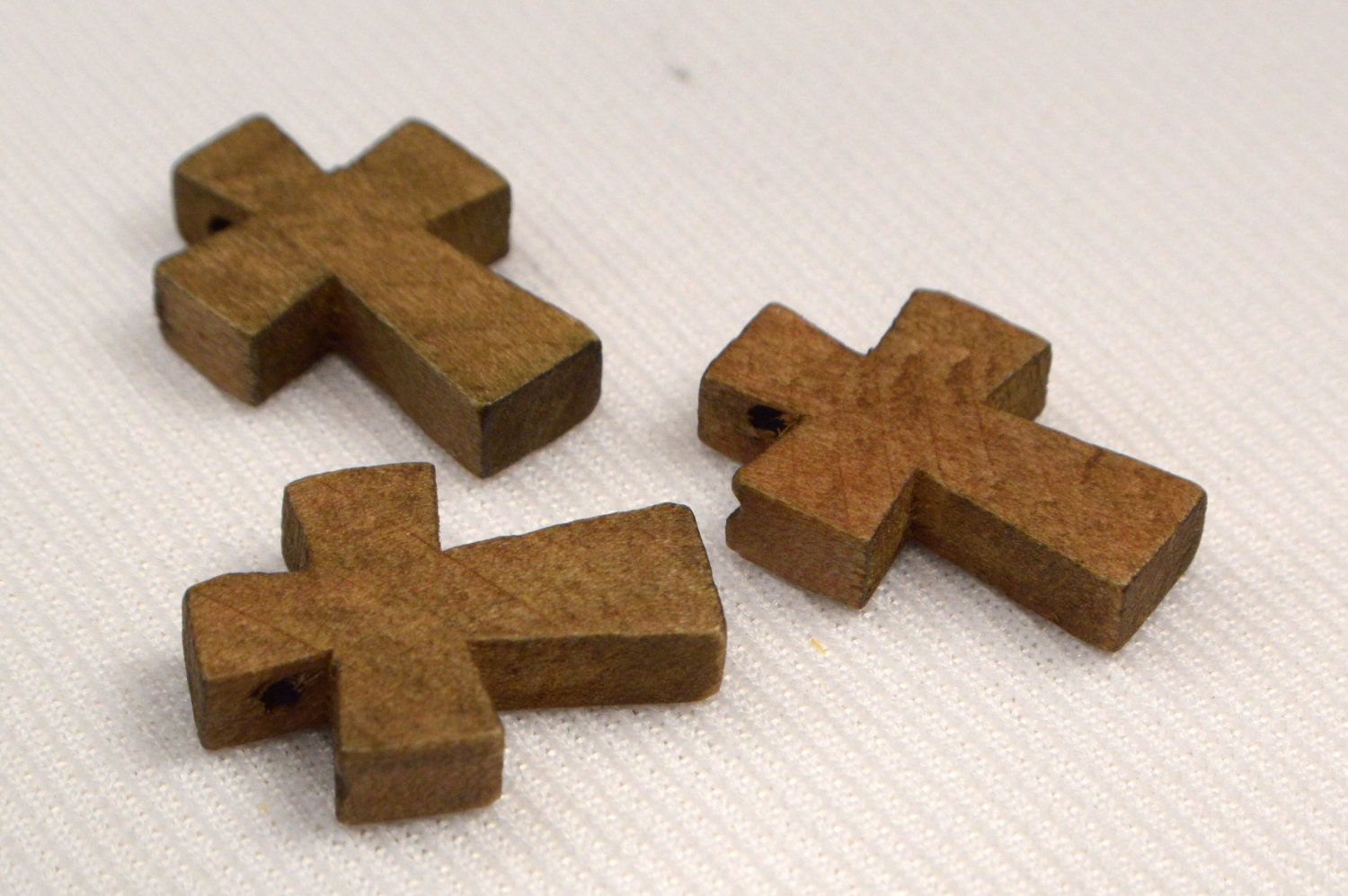 Vintage wood cross loose wood cross charms jewelry for Wooden craft supplies online