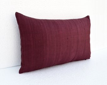 Maroon Pillows Etsy