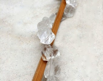 Crystal Rough Nugget Shape Beads