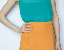 Silk Tank Top, Silk Blouse, Minimalist Top, Singlet Top